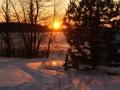Закат над озером Серменок - 3