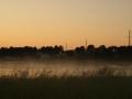 Закат над озером Серменок