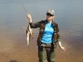 Улов на озере Стерж